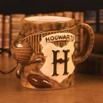 Tazza Harry Potter (Quidditch) 3D scolpito