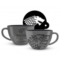 Tazza Cappuccino Game of Thrones (Stark)