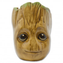 Tazza a forma di  (Baby Groot) Scolpito in 3D