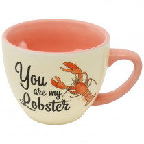 Tazza Friends  (You are my Lobster) Scolpito in 3D