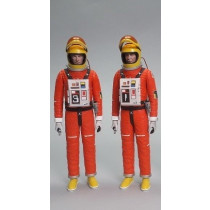 Space: 1999 set completo 2 action figure + Moonbuggy