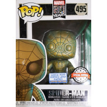 "Funko Pop! Marvel 80 years #495 ""Spider-Man""- Special Edition Lucca Comics 2019"
