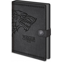 Notebook A5 Game of Thrones (Stark)