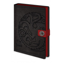 Notebook A5  Game of Thrones (Targaryen)