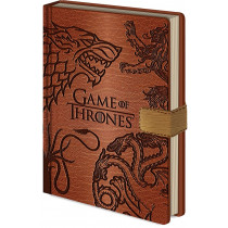 Notebook A5 Game of Thrones (Sigils)