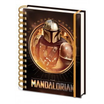 Notebook A5 Star Wars: The Mandalorian (Bounty Hunter)