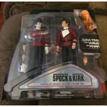 """Star Trek II Wrath Of Khan """"Death of Spock"""" Two-pack Figure Set with Kirk"""