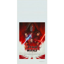 Locandina Star Wars Gli Ultimi Jedi 33X70