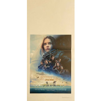 Locandina Star Wars Rogue One 33x70