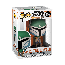 Funko Pop! STAR WARS THE MANDALORIAN: COVERT Mandalorian #352