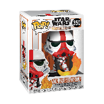 Funko Pop! STAR WARS THE MANDALORIAN: Incinerator Stormtrooper #350