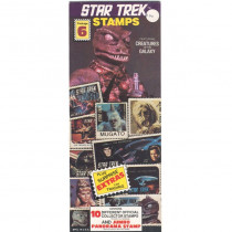 Star Trek Stamps Package 6 – Featuring Creatures of the Galaxy