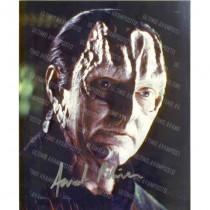 Autografo Andrew Robinson Garak Star Trek 2 Foto 20x25
