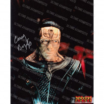 Autografo Casey Biggs Star Trek DS9 Foto 20x25