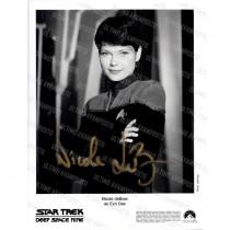 Autografo Nicole De Boer Satr Trek DS9