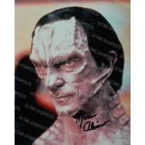 Autografo Marc Alaimo Star Trek DS9 Foto 20X25