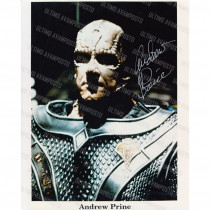 Autografo Andrew Prine Star Trek DS9 Foto 20x25