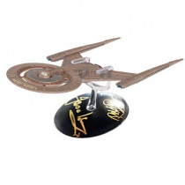 Star Trek Discovery The Official Starship Collection: U.S.S. Discovery NCC-1031 Starship #2 Autografata da Jason Isaacs, Rekha Sharma e  Doug Jones