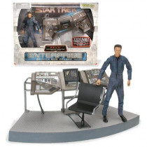 Star Trek Enterprise Reed Action plancia Figure Art Asylum