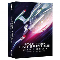 Star Trek Enterprise - Collezione Completa Stagioni 1-4 (Box Set) (27 DVD)