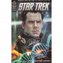 Star Trek Continua – Khan – Set completo – 4 su 5 fumetti autografati da Claudia Balboni e Claudia ScarletGothica