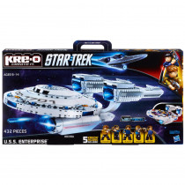 Star Trek KREO NCC 1701 USS ENTERPRISE Building Blocks Set