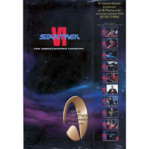 Star Trek VI The Undiscovered Country Official Star Trek Action Series Phonecards – Movie Set 6