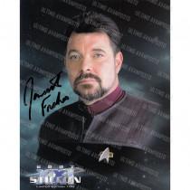 Autografo Jonathan Frakes Star Trek Foto 20x25