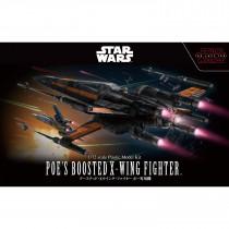 Bandai Poe's Boosted X-Wing Fighter in scala 1/72 da Star Wars The Last Jedi