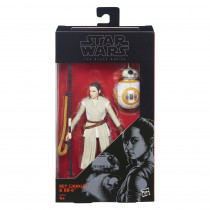 Rey (Jakku) & BB-8 da Star Wars Episode VII Black Series – 02