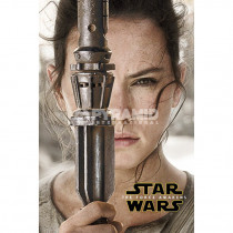 Poster Star Wars Episode VII Rey Teaser