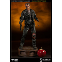 T:800 Terminator Battle Damaged Premium Format scale 1/4