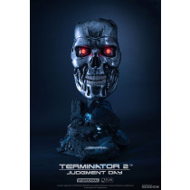 Terminator Lifesize endo bust scale 1:1 Pure sideshow