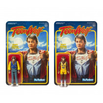 REACTION TEEN WOLF WEREWOLF AND BASKETBALL 3.75 INCH set 2 ACTION FIGURES