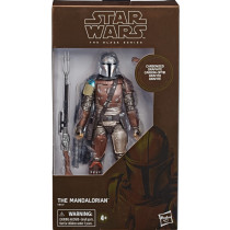 Star Wars The Mandalorian Carbonized Graphite Black Series Esclusiva