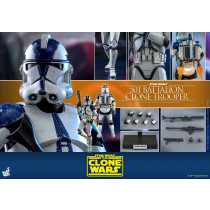 Hot Toys TMS 22 Star Wars The Clone Wars 501st Battalion Clone Trooper
