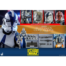 Hot Toys TMS  23 Star Wars The Clone Wars 501st Battalion Clone Trooper deluxe
