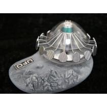 UFO SAUCER+LUNAR SURFACER DIECAST