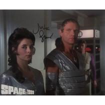 Autografo Julian Glover Space 1999  Foto 20x30