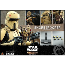 PREORDINE  Hot Toys TMS031 STAR WARS: THE MANDALORIAN 1/6 SHORETROOPER