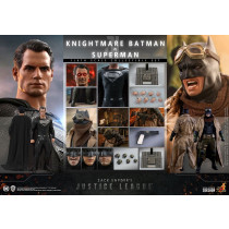 PREORDINE Hot Toys Zack Snyder's Justice League Action Figure 2-Pack 1/6 Knightmare Batman and Superman 31 cm