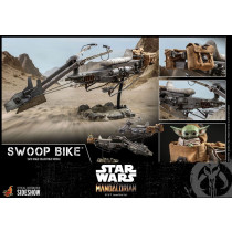 PREORDINE HOT TOYS Star Wars The Mandalorian Vehicle 1/6 Swoop Bike 59 cm