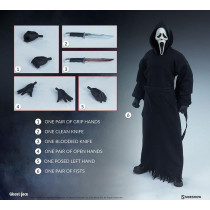 PREORDINE SIDESHOW Ghost Face Action Figure 1/6 30 cm