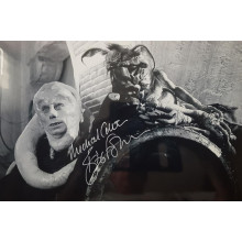 Autografo Michael Carter Star Wars Bib Fortuna Foto 20x30