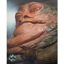 Autografo Toby Philpott Star Wars Jabba 8 Foto 20x25