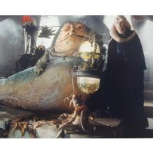 Autografo Toby Philpott Star Wars Jabba 7 Foto 20x25: