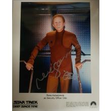 Autografo René Auberjonois 9 Star Trek DS9 Foto 20x25