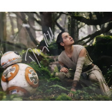 Autografo Star Wars Daisy Ridley 3 -Foto 20x25