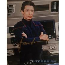Autografo Dominic Keating Star Trek Enterprise 4 Foto 20x25