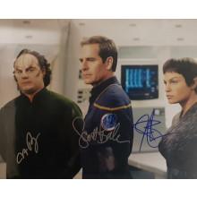 Autografo-Cast-3-Actor-Star-Trek-Enterprise-Foto-20x25